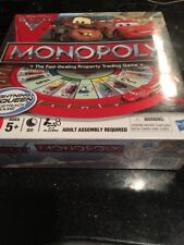 Monopoly Cars 2 Race Track Game Disney Pixar Hasbro New Factory Sealed Box