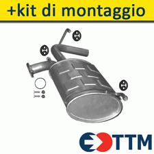 CITROEN JUMPY VAN 1.6 1.9 D 70//80HP 1995-2007 Silencer Exhaust System