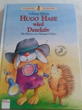 Hugo Hase wird Detektiv, der Kinderbuchbär,  siehe Bilder,neu