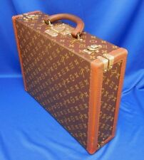 Vintage 1950s LV Authentic Louis Vuitton Made in France Case Attache Briefcase