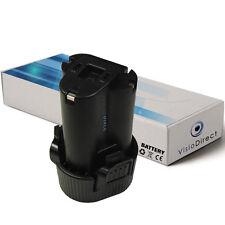 Batterie 10.8V 1500mAh pour MAKITA DF030DWX DF330 DF330D DF330DWE DF330DWLX