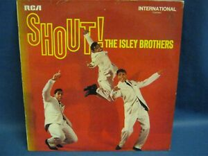 RECORD ALBUM THE ISLEY BROTHERS SHOUT 7451