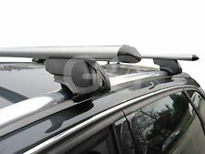 Aluminium Aero Roof Rack Rail Bars Lockable | Audi A4 Avant Estate 2008- onwards