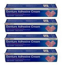CVS (4-Pack) Denture Adhesive Cream 2.4oz Each