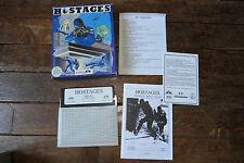 """Jeu IBM PC 5 1/4"""" - HOSTAGES - Infogrames"""