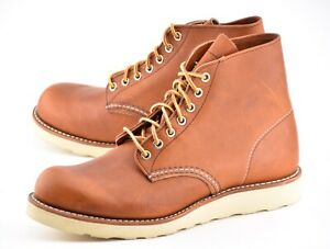 NEW w BOX - 1st QUAL | RED WING 8D ORO LEGACY ROUND TOE HERITAGE BOOTS 8822