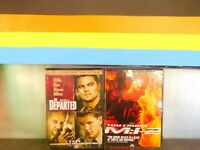 Lot of  2  Mission: Impossible II / the Departed { ( DVD , New Sealed