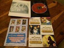 Simpsons 3 Disc UK R2 DVD Collection GC Too Hot For TV Dark Secrets & Bart Wars