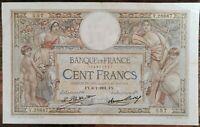 Billet 100 francs LUC OLIVIER MERSON 8 = 1 = 1931 FRANCE Y.28667