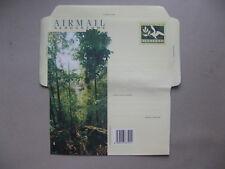 SINGAPORE, ill. prestamped aerogramme, mint, Bukit Timah  nature reserve trees