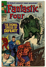VF(-) 7.5 Fantasic Four 58 Marvel Comics Silver Age The Thing Dr Doom App