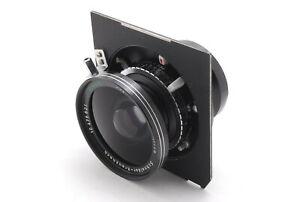 【EXC+++++】Schneider Super Angulon 75mm f/5.6 MC Large Format Lens From JAPAN