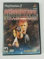 Resident Evil: Dead Aim (PlayStation 2, 2003) PS2 Complete Game w/ Manual TESTED