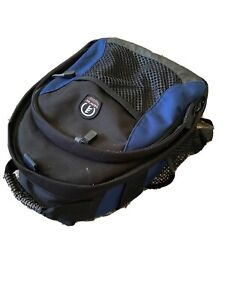 Tamrac Digital Camera blue and Black Padded Bag Backpack nikon canon sony