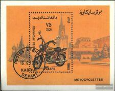 Afghanistan Block80 (kompl.Ausg.) gestempelt 1985 Motorräder