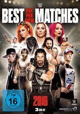 3 DVDs * WWE - BEST PPV MATCHES 2016 # NEU OVP &