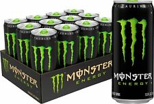Genuine Monster Green, Original, 10.5 Ounce (Pack of 12) Other Free Shipping