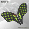3M Tank Pad Traction Side Gas Knee Grip Sticker For Kawasaki NINJA 250 300 13-16