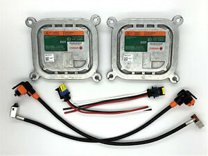 2x New OEM 10-16 Lincoln MKT Xenon HID Headlight Ballast w/ Wiring Cables