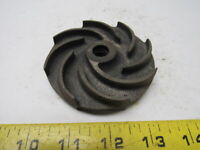"""Ruthman Gusher 2440 Pump Impeller 3.5 OD x 47/64"""" Thick M12-1.75 Threaded Hole"""