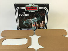 brand new star wars empire strikes back tie bomber box + inserts