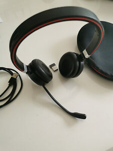 Casque  Jabra Evolve 65 MS Stereo Casque Arceau sans Fil - Noir