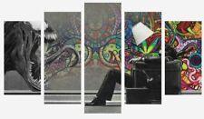 ABSTRACT VENOM MARVEL GRAFFITI SPLIT PANEL WALL ART CANVAS PICTURE PRINTS