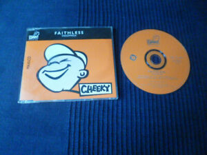 CD Faithless INSOMNIA Monster Mix 8:38 Moody 10:43 Tuff 7:18 | 5 Tracks CHEEKY