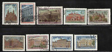 RUSIA/URSS-RUSSIA/USSR 1949 USED SC.1449/1457 MI.1450/1458 Museums