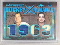 2020 Ultimate Hockey Almanac Gordie Howe Glenn Hall 4/6 Mr. Hockey & Mr. Goalie