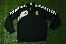 SCOTLAND TEAM 2011/2012 FOOTBALL ZIP SWEATSHIRT SWEATER TRAINING ADIDAS ORIGINAL