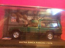 SUPERBE MATRA-SIMCA RANCHO 1978  1/43 NEUF EN BOITE SOUS BLISTER E8