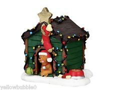 Lemax - 02808 (205) Decorated Light Doghouse, Weihnachtsdorf, Weihnachtsfiguren
