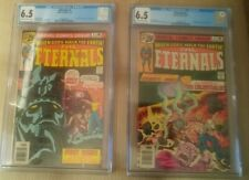 The Eternals #1 and #2 CGC 6.5 - 1st Appearance of Eternals and Celestials Lot