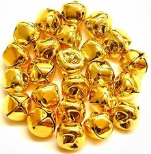 Jingle Bells 15mm Gold 24pcs