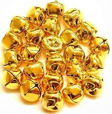 Jingle Bells 15mm Gold 24pcs