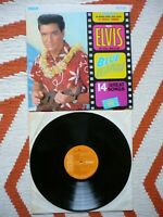 Elvis Presley Blue Hawaii Vinyl UK 1970 Stereo Press RCA Victor 3E/1E LP EXC+ NM