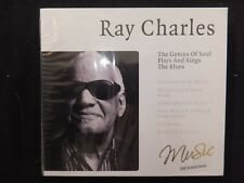 CD RAY CHARLES / THE GENIUS OS SOUL PLAYS AND SINGS THE BLUES /