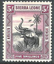 Sierra Leone (1808-1961) Single Stamps