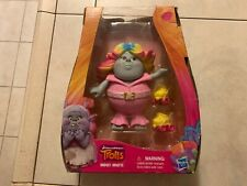 "Trolls Bridget rainbow hair 6"" movable figure with roller skates BRAND NEW"