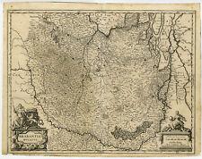 Antique Map-BRABANT-BRABANTIA DUCATUS-NETHERLANDS-BELGIUM-Blaeu-ca. 1635