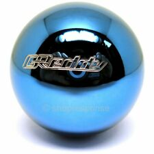 GReddy SUS Shift Knob Ball Type Blue Stainless Steel Heavy Weighted 14500111