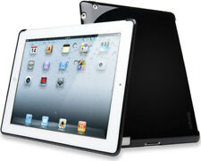 ipad 2 3 4 Black Back Silicone Case Cover Compatible with Smart Case- Kensington