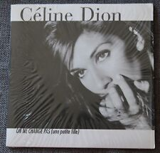 Celine Dion, on ne change pas  / sur le meme bateau, CD single