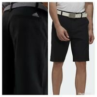 New Adidas Ultimate 365 Mens Solid Golf Shorts- Black - Pick Size- Closeout