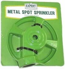 Expert Gardner Metal Head Sprinkler Round Garden Lawn
