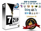 7zip file compression and unzip - Winrar Winzip compatible for Windows and MacOs