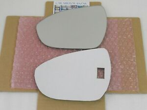 D676L MIRROR GLASS FOR 2017-20 CHEVROLET BOLT EV + Full Adhesive Driver Side LH