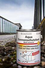 Jaeger Aqua Barniz de protección de sol blanco, translúcido 2,5 l