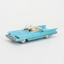 1/64 HRN-MODEL LINCOLN FUTURA CONCEPT 1955 LIMITED EDITION RESIN BLUE CAR MODEL